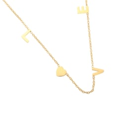 Love | Ketting | Gold