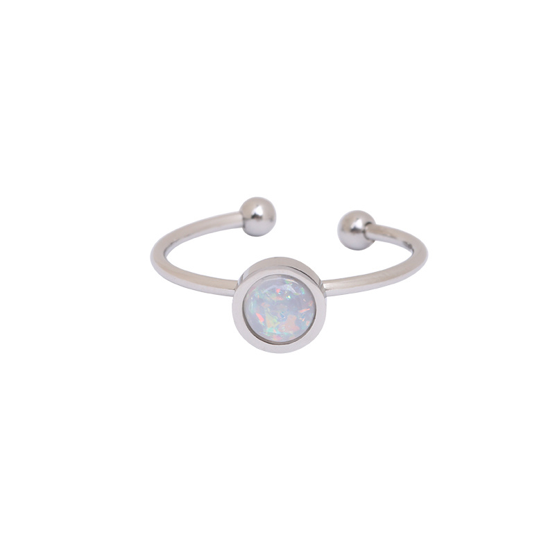 Be You | Ring | Silver-White