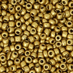 Rocailles    Goud Metallic