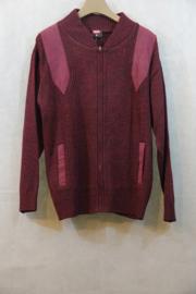 Vest Bordeaux Rood