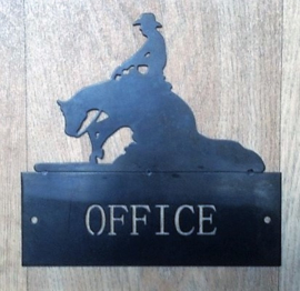 Location Sign 'OFFICE'