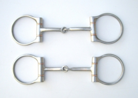 "Snaffle Brushed D-ring (12,5cm/5"")"