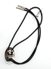 Oval Concho Bolo Tie