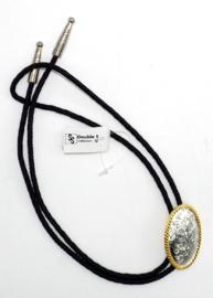 Bolo Tie Silver-Gold