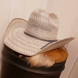 American Hat Company Tuf Cooper Two-Town 20X Grijs