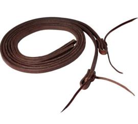 "Dark Oiled Leather Reins 1/2"""