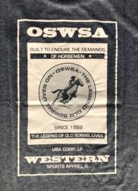 "OSWSA t-shirt ""Bob"" Anthra Melange"