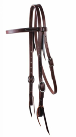 Trainingshoofdstel Ranchhand Frontriem double buckle