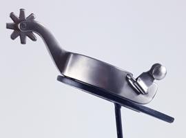 Sporen Unisex mat zilver