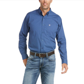 Ariat Fitted Shirt Old Bay Blue Print