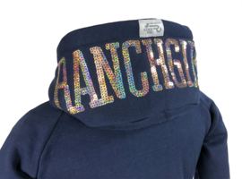 "Ranchgirls Hooded Jacket SHINY"" deep sea 