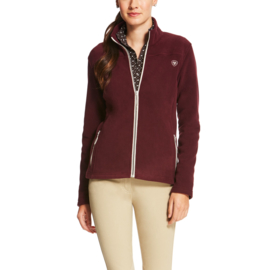 Ariat Basic Full Zip Malbec