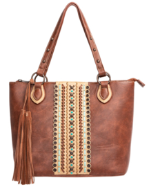 Blazin Roxx Concealed Carry Studded Tote