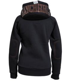 Ranchgirls Sweat Jacket Zwart/Koper