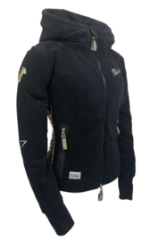 "Ranchgirls Fleece Jacket ""Abby"" Black"