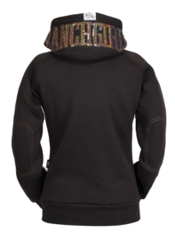 "Ranchgirls Hooded Jacket ""Shiny"" Chocolate/Toffee"
