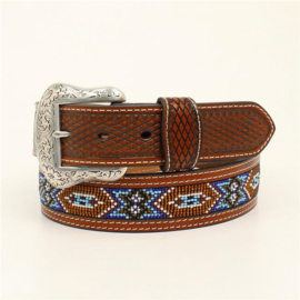 Nocona Diamond Tabs Beaded