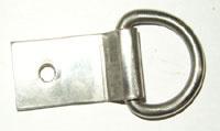 D-clip van roestvrij staal