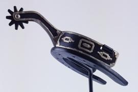 Sporen Unisex Zwart/Zilver