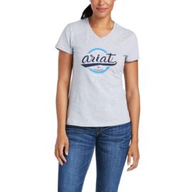 Ariat Authentic Logo T-Shirt Heather Grey