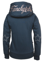 "Ranchgirls Hooded Jacket ""Shiloh"" Steel grey/amber"
