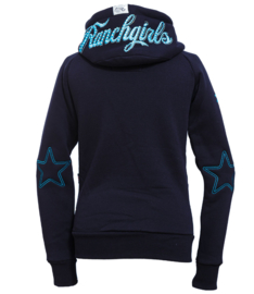 "Ranchgirls Hooded Jacket ""Shiloh"" Navy/Sky"