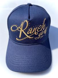 Ranchgirls Pet Navy/Gold