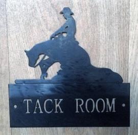 Location Sign 'TACK ROOM'