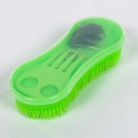 Magic Brush Lami-cell met elastiekjes en vlechtkam