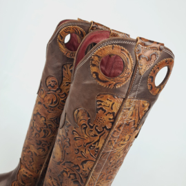 Hanton Cavalier High Boots Flower