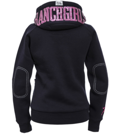 "Ranchgirls Hooded Jacket ""Shiny"" Pink"