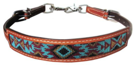 Wither Strap Inlay Blue