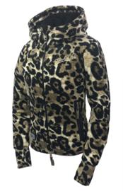 "Ranchgirls Fleece Jacket ""Abby"" Leopard"