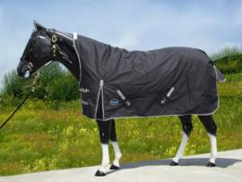 """""""TOUGH HORSE"""" - Regen Winter Deken - HALVE HALS - 300gr"""