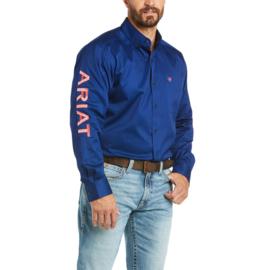 Ariat Classic Shirt Team Logo Blue