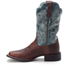 Ariat Quickdraw Brown Oiled Rowdy