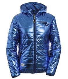 Ranchgirls Jacket Rommi Glitter Blauw