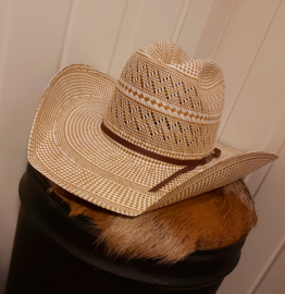 American Hat Company Tuf Cooper Two-Town 20X Ivoor