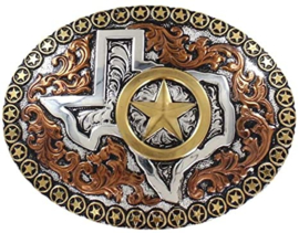 Texas Motif Gold Star