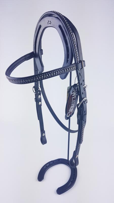 Hoofdstel Weaver Zwart