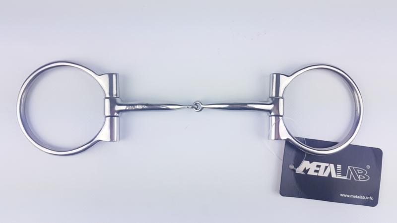 Metalab D-ring Snaffle