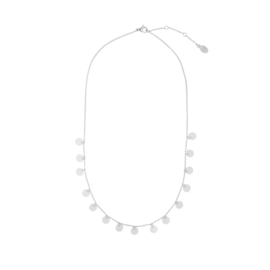 Ketting ''circles'' stainless steel, zilver