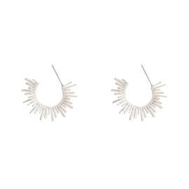 Earrings ''bohemian style'' silver