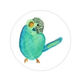 Stickers ''little bird'' 8 stuks