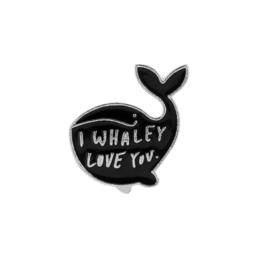 Pin ''I whaley love you''