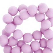 Acryl kralen 4mm, lila