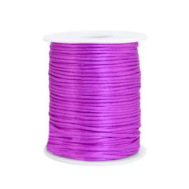 Satijndraad 1,5mm ''purple'' 1 meter