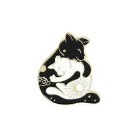 Pin ''yingyang cats''