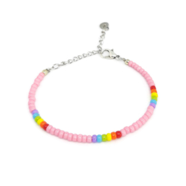 Little beads armbandje ''pandora collection'' 7, handmade