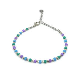 Little beads armbandje ''ontwerp 24'', handmade